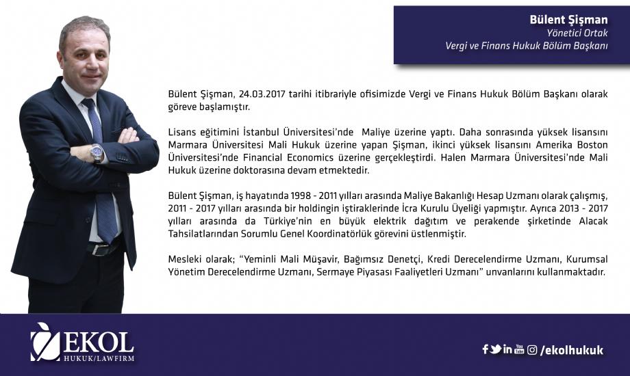EKOL HUKUK YENİLENMEYE DEVAM EDİYOR - HABERLER - Ekol Hukuk Ofisi